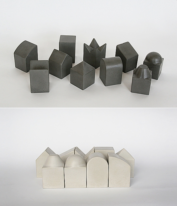 Tetti Blocks by Concreteworks | moddea