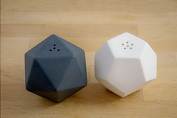 GEO Salt and Pepper Shakers by Ashware Studio | moddea