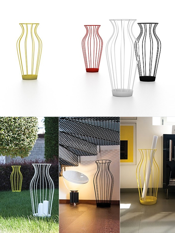 Hydria Umbrella Stand by Gianluca Minchillo | moddea