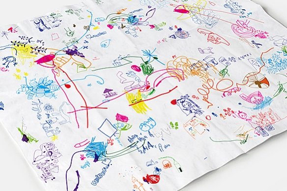 SCRIBBLES Tablecloth by ATYPYK | moddea