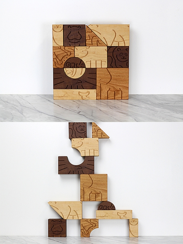 """AMINAL"" Blocks by Studio Dunn 