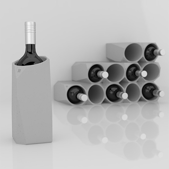Corvi Wine Cooler by Francisco Corvi | moddea