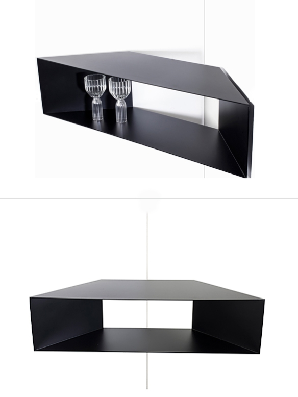 Corner Shelf by Fferrone Design| moddea