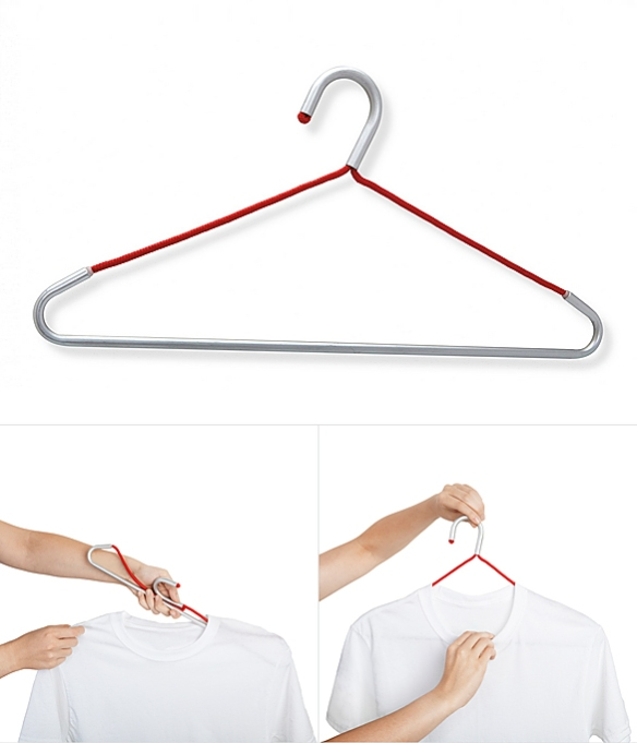Foldaway Hanger by Louisa Koeber and Marie Mattner | moddea