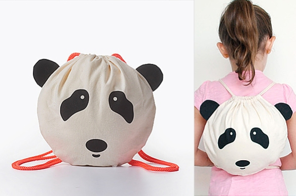 Panda DIY Bag by CHICKCHACK | moddea