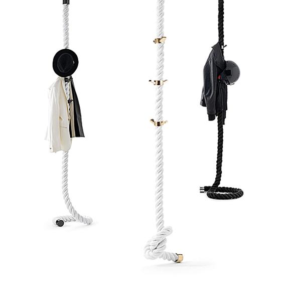 LA CIMA Clothes Hanger Rope by Lapo Ciatti | moddea