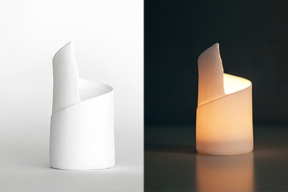 Rologo Tealight Holder by Roos Van der Velde | moddea