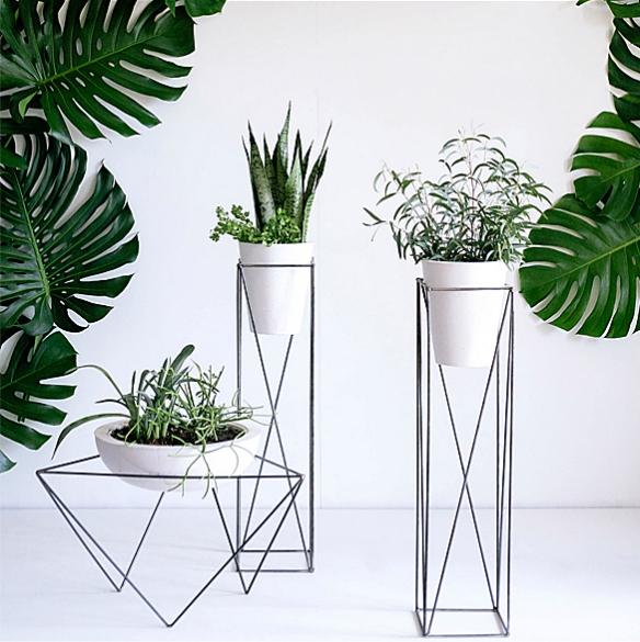Geometric Planters by KKDW | moddea