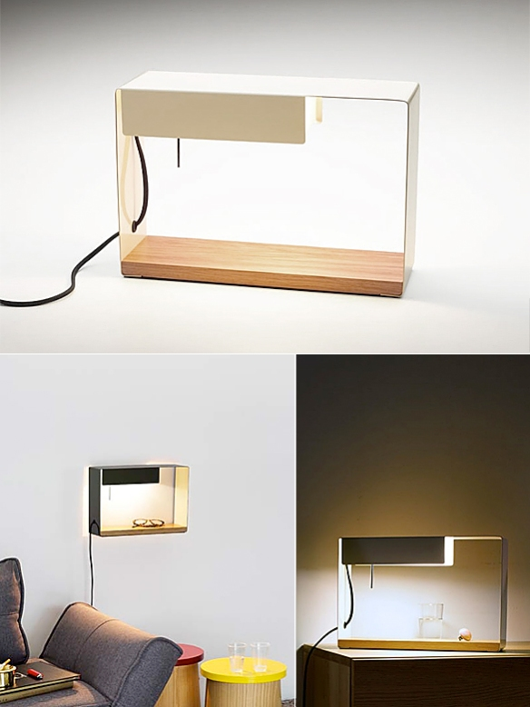 La Discrète Lamp by Fabien Dumas | moddea