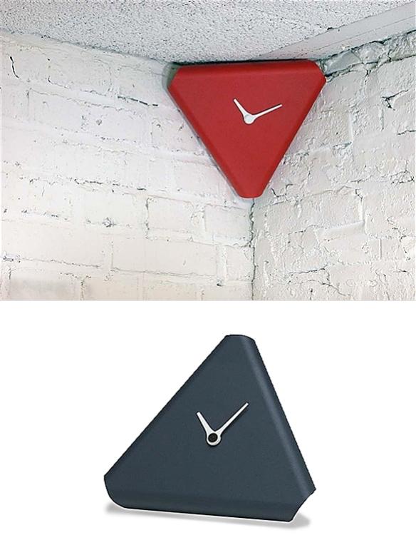 Corner Clock by Jörg Gätjens | moddea