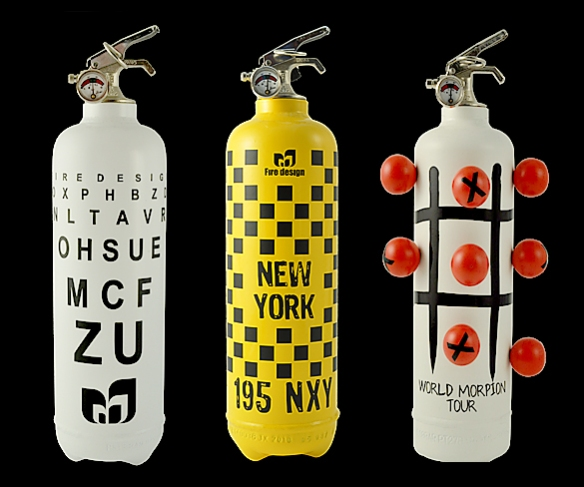 Fire Design Extinguishers by Fire Design | moddea
