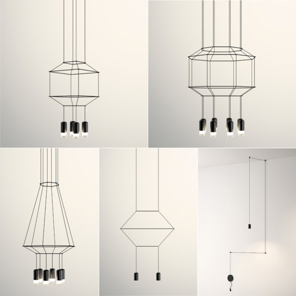 Wireflow Pendant Lights by Arik Levy | moddea