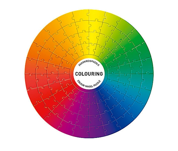 COLOURING Color Wheel Puzzle by Adam+Harborth | moddea