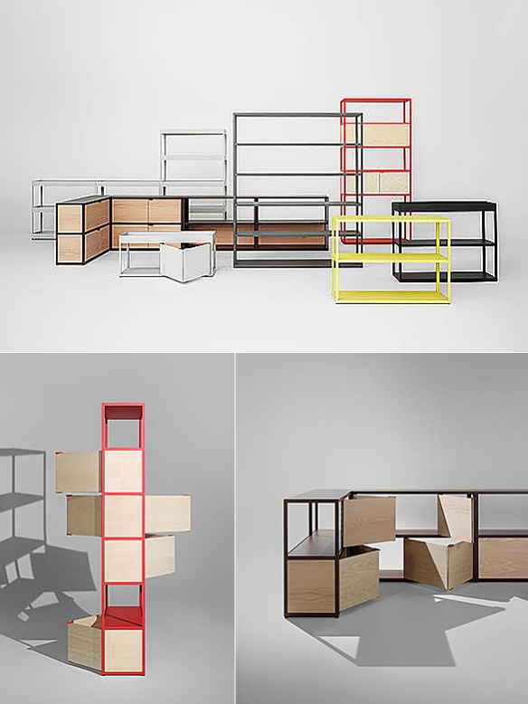 New Order Shelving System by Stefan Diez and Hay | moddea