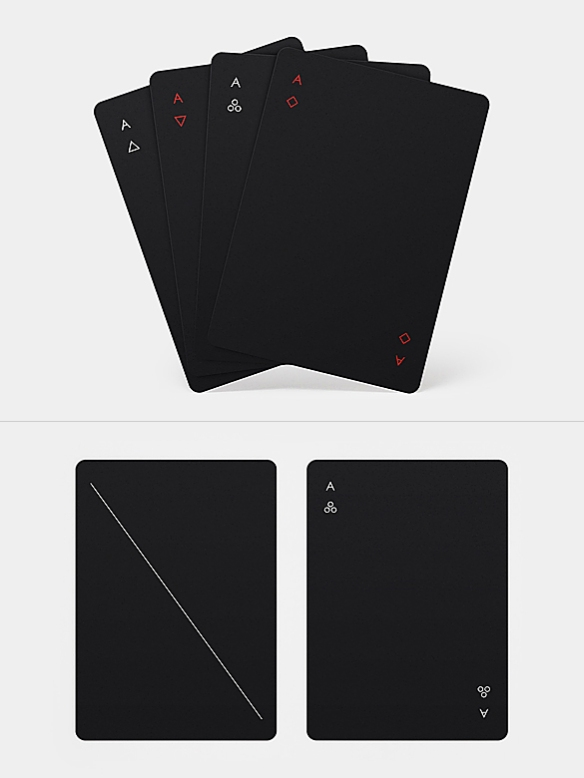 Minim Playing Cards by Joe Doucet | moddea