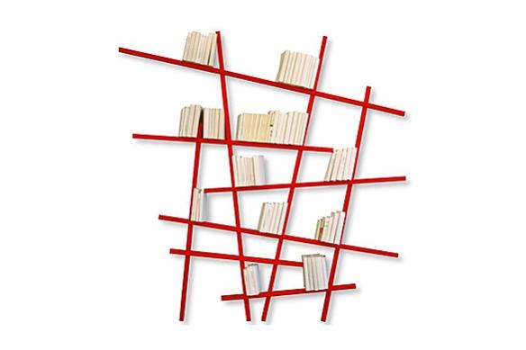 Mikado Bookshelves by Jean-Francois Bellemere | moddea