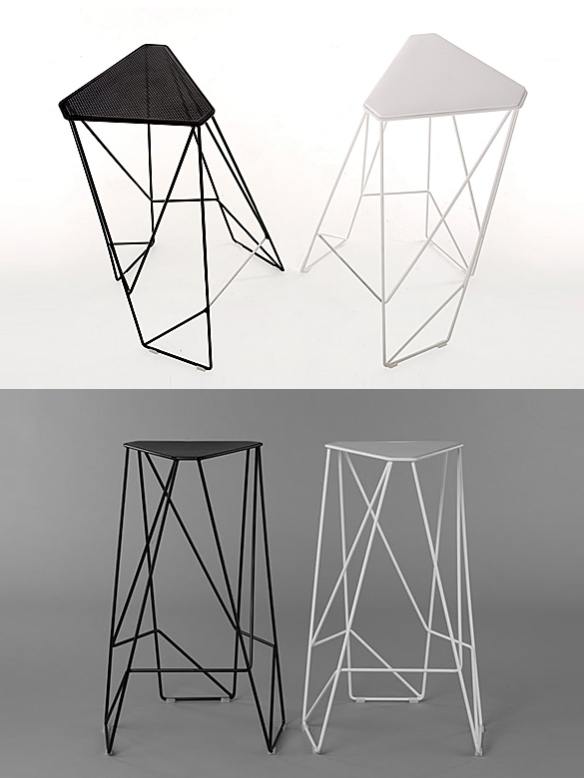 TRIPOD Stool by Viewport Studio | moddea