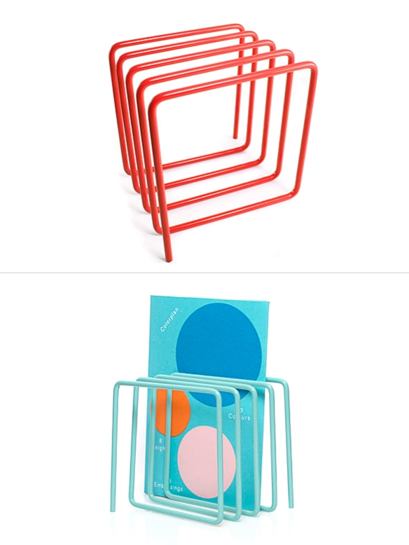 Wire Magazine Rack by Block | moddea