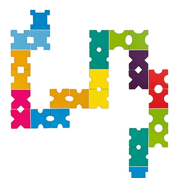 COLORCONDA Domino Game by Adam+Harborth | moddea