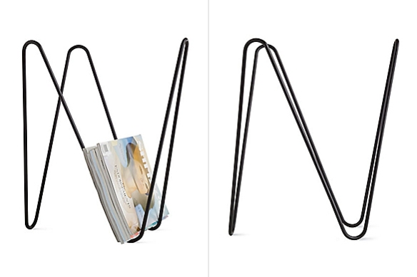 MW Magazine Rack by Laurent Serin and Javier Gutierrez Carcache | moddea
