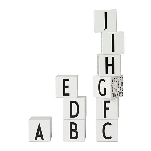 Wooden Letter Cubes by Design Letters | moddea