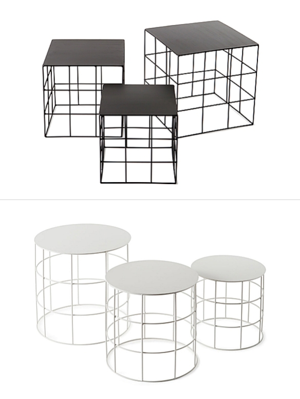 Reton Accent Tables by Antonio Sciortino | moddea