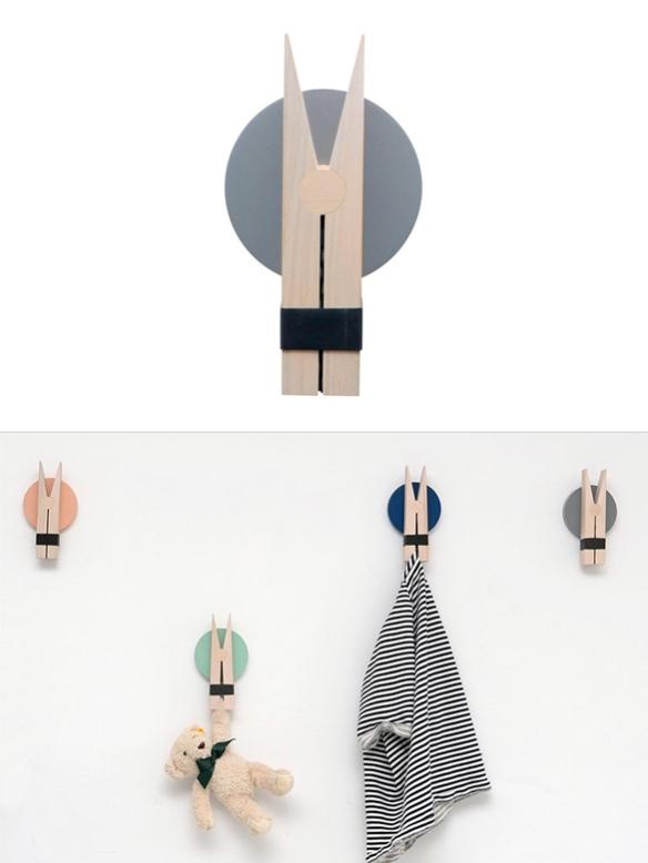 Peggy Wall Clip by Lucie Kaas| moddea