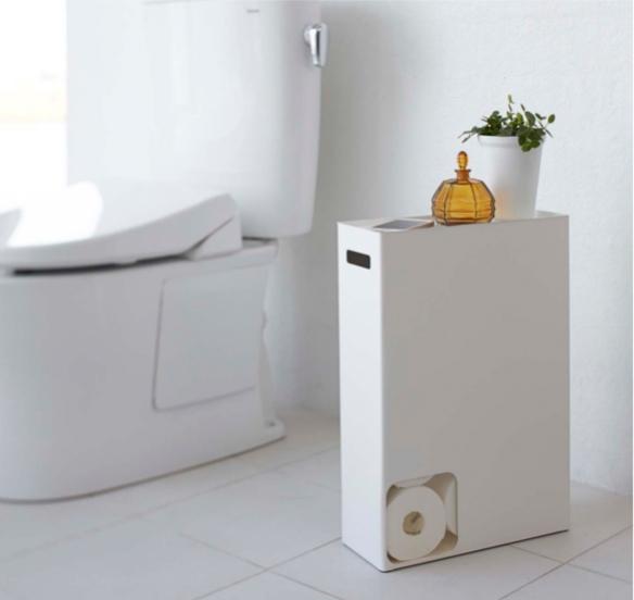 PLATE Toilet Paper Stocker by Yamazaki | moddea
