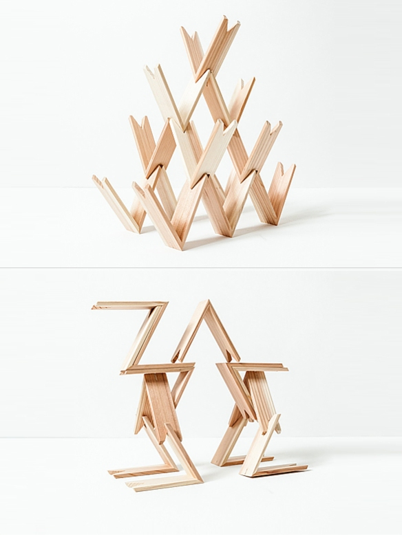 Tsumiki Stacking Blocks by Kengo Kuma | moddea